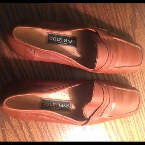 Cole Haan Vintage Brown Leather Penny Loafer 8.5